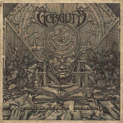 Gorguts - Pleiades' Dust recenzja okładka review cover