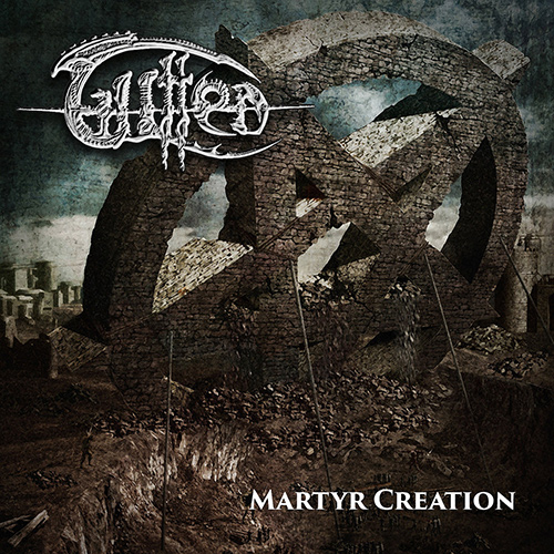 Gutted - Martyr Creation recenzja okładka review cover