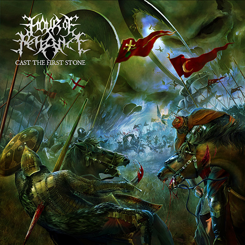 Hour Of Penance - Cast The First Stone recenzja okładka review cover