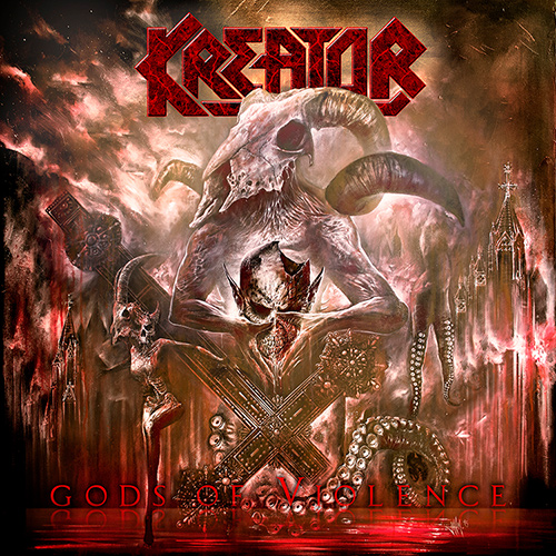 Kreator - Gods Of Violence recenzja okładka review cover