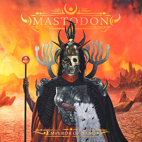 Mastodon - Emperor Of Sand recenzja okładka review cover