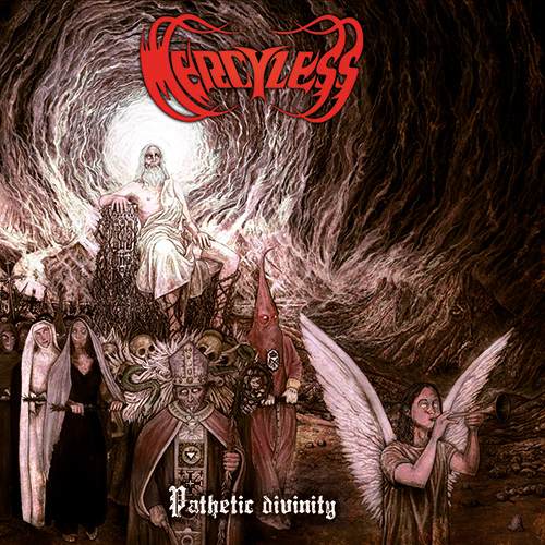 Mercyless - Pathetic Divinity recenzja okładka review cover