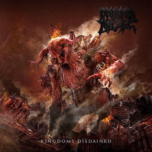 Morbid Angel - Kingdoms Disdained recenzja okładka review cover