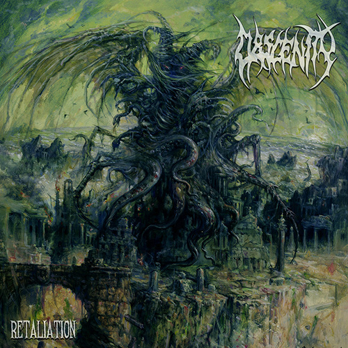 Obscenity - Retaliation recenzja okładka review cover