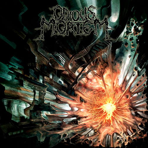 Odious Mortem - Cryptic Implosion recenzja okładka review cover