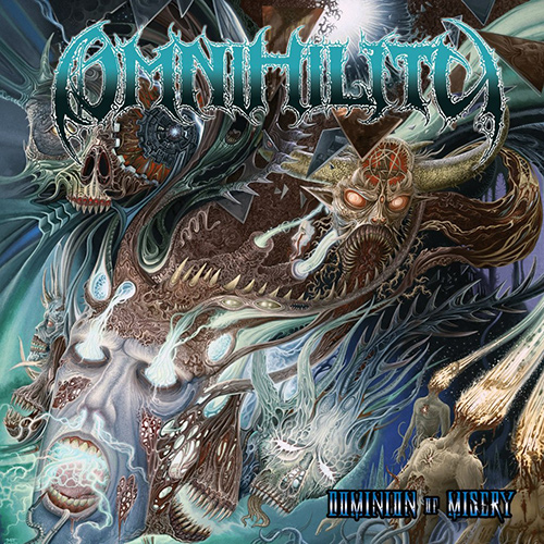 Omnihility - Dominion Of Misery recenzja okładka review cover