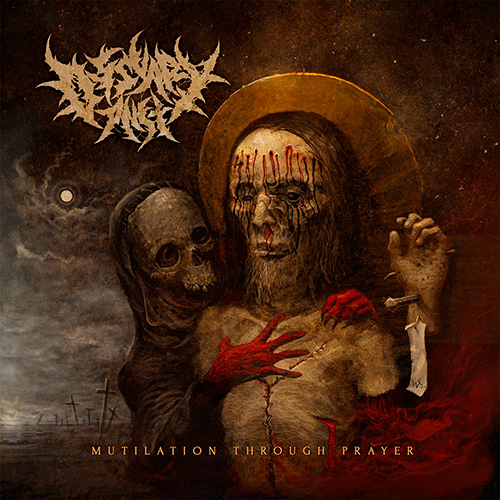 Ossuary Anex - Mutilation Through Prayer recenzja okładka review cover
