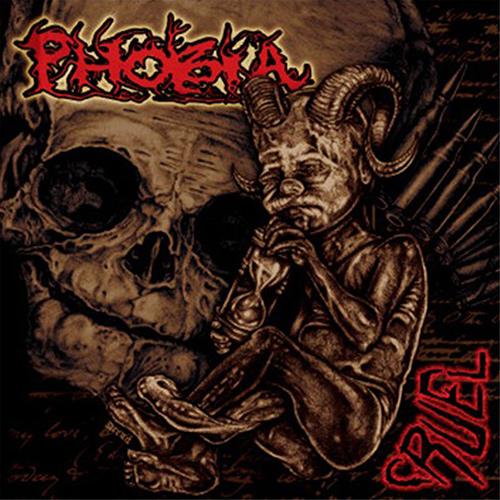 Phobia - Cruel recenzja okładka review cover