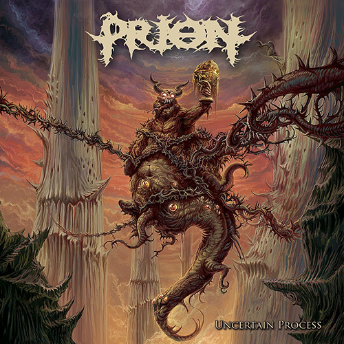 Prion - Uncertain Process recenzja okładka review cover
