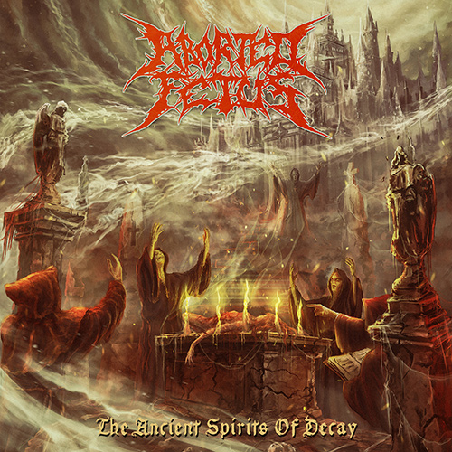 Aborted Fetus - The Ancient Spirits Of Decay recenzja okładka review cover