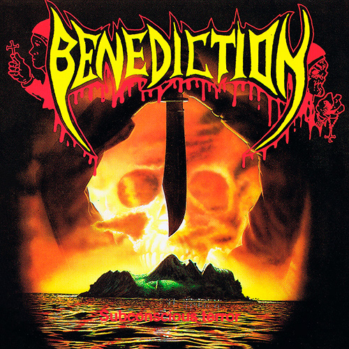 Benediction - Subconscious Terror recenzja okładka review cover