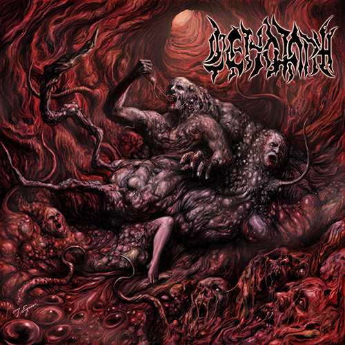Cenotaph - Perverse Dehumanized Dysfunctions recenzja okładka review cover