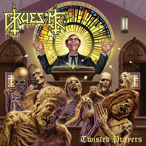 Gruesome - Twisted Prayers recenzja okładka review cover