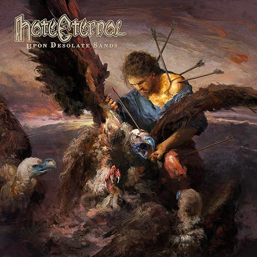 Hate Eternal - Upon Desolate Sands recenzja okładka review cover