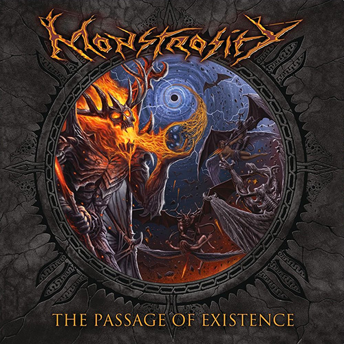Monstrosity - The Passage Of Existence recenzja okładka review cover