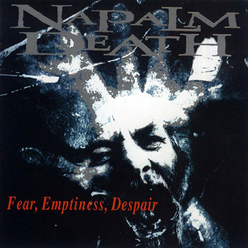 Napalm Death - Fear, Emptiness, Despair recenzja okładka review cover