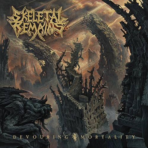 Skeletal Remains - Devouring Mortality recenzja okładka review cover