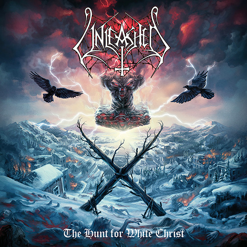 Unleashed - The Hunt For White Christ recenzja okładka review cover