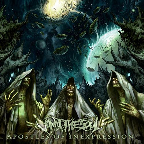Vomit The Soul - Apostles Of Inexpression recenzja okładka review cover