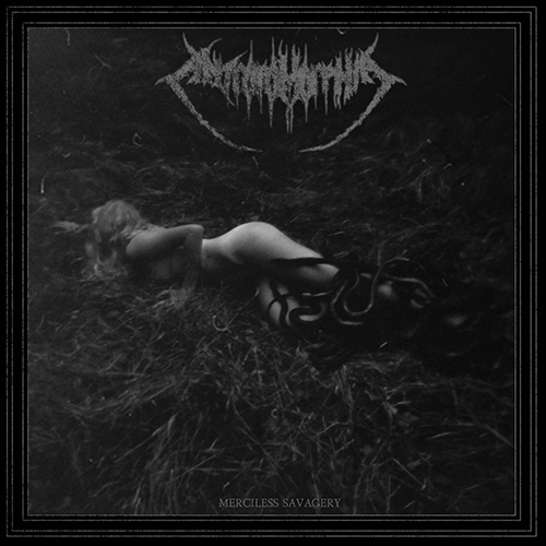 Antropomorphia - Merciless Savagery recenzja okładka review cover