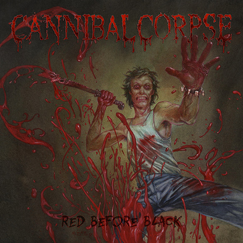 Cannibal Corpse – Red Before Black recenzja okładka review cover