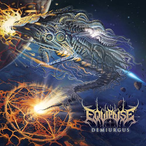 Equipoise - Demiurgus recenzja okładka review cover
