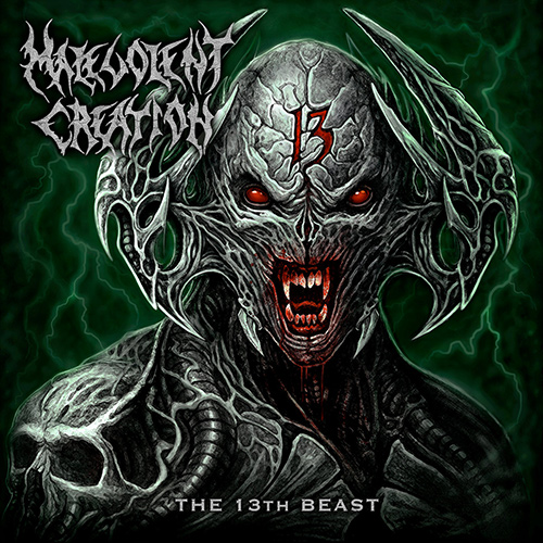 Malevolent Creation - The 13th Beast recenzja okładka review cover