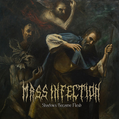 Mass Infection - Shadows Became Flesh recenzja okładka review cover