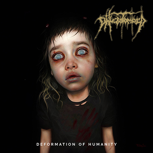 Phlebotomized - Deformation Of Humanity recenzja okładka review cover