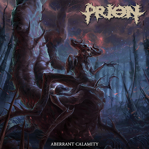 Prion - Aberrant Calamity recenzja okładka review cover