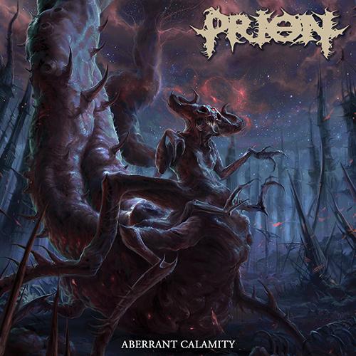 Prion - Aberrant Calamity recenzja okładka review cover