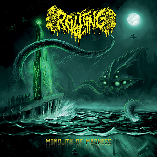 Revolting - Monolith Of Madness recenzja okładka review cover