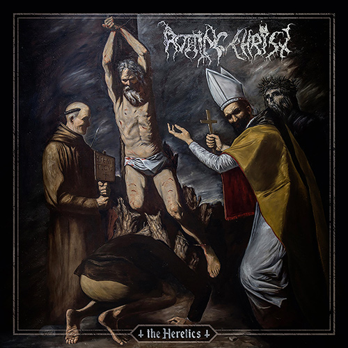 Rotting Christ - The Heretics recenzja okładka review cover