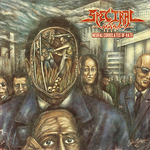 Spectral - Neural Correlates Of Hate recenzja okładka review cover