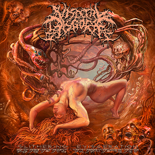 Visceral Disgorge - Slithering Evisceration recenzja okładka review cover