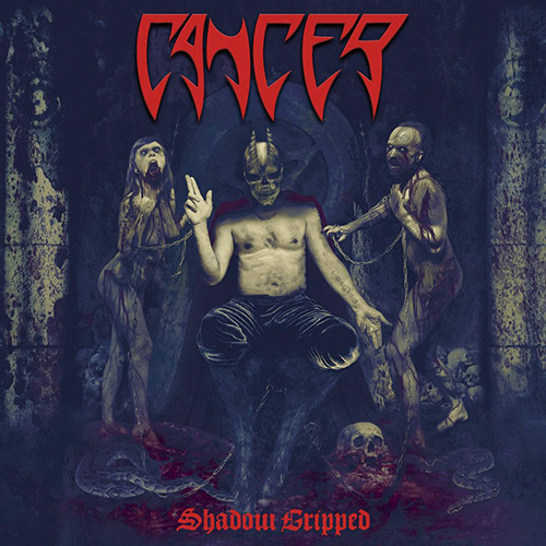 Cancer - Shadow Gripped recenzja okładka review cover