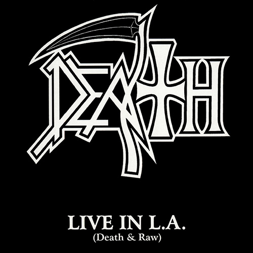 Death - Live In L.A. (Death & Raw) recenzja okładka review cover