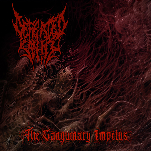 Defeated Sanity - The Sanguinary Impetus recenzja okładka review cover