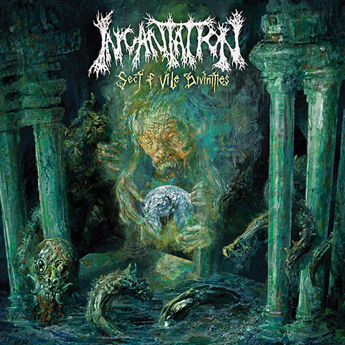 Incantation - Sect Of Vile Divinities recenzja okładka review cover