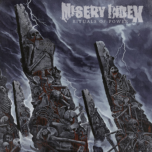 Misery Index - Rituals Of Power recenzja okładka review cover