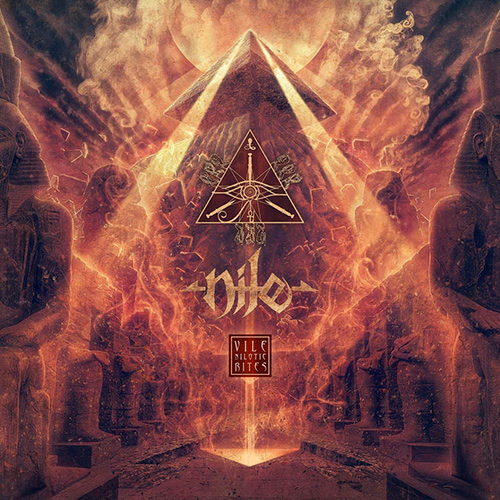 Nile - Vile Nilotic Rites recenzja okładka review cover