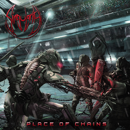 Singularity - Place Of Chains recenzja okładka review cover