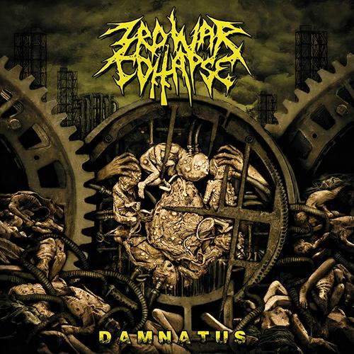 3rd War Collapse - Damnatus recenzja okładka review cover