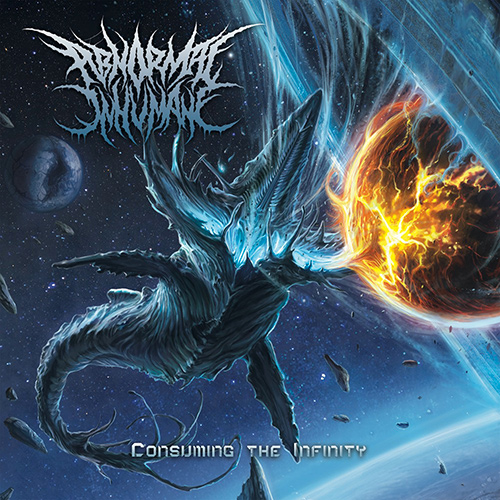 Abnormal Inhumane - Consuming The Infinity recenzja okładka review cover