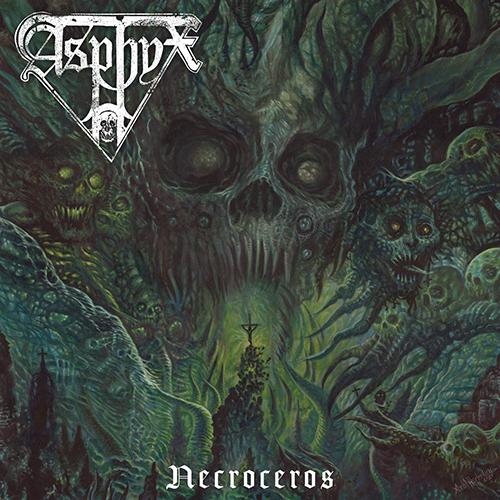 Asphyx - Necroceros recenzja okładka review cover