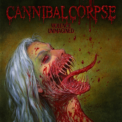 Cannibal Corpse - Violence Unimagined recenzja okładka review cover