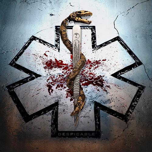 Carcass - Despicable recenzja okładka review cover