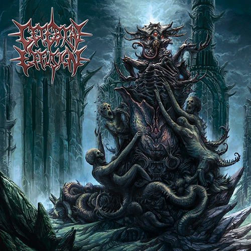 Cerebral Effusion - Idolatry Of The Unethical recenzja okładka review cover