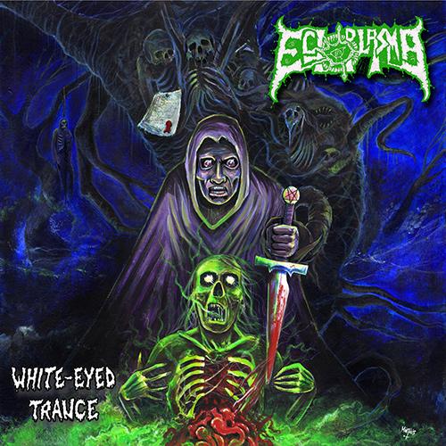 Ectoplasma - White-Eyed Trance recenzja okładka review cover
