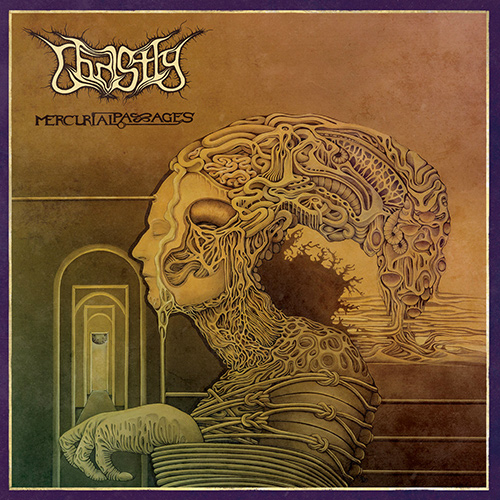 Ghastly - Mercurial Passages recenzja okładka review cover